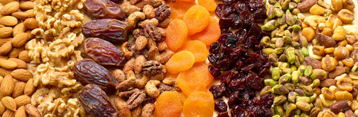 Nuts & Dried Fruit, spain