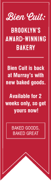 Bien Cuit is Back! Get pound cakes, pastries and bread from this award-winning Brooklyn based bakery.