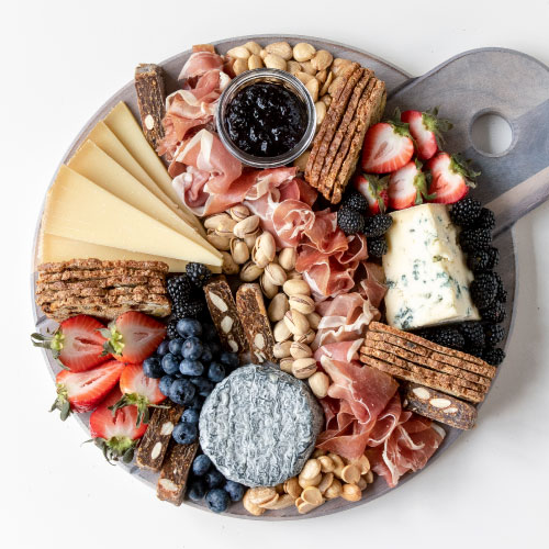 The Rosé, White & Blue Board by That Cheese Plate
