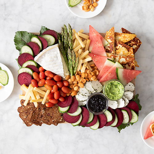 The Fruit, Veggies, & Cheese Pairing Board