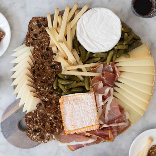 The Best of France Cheese Board