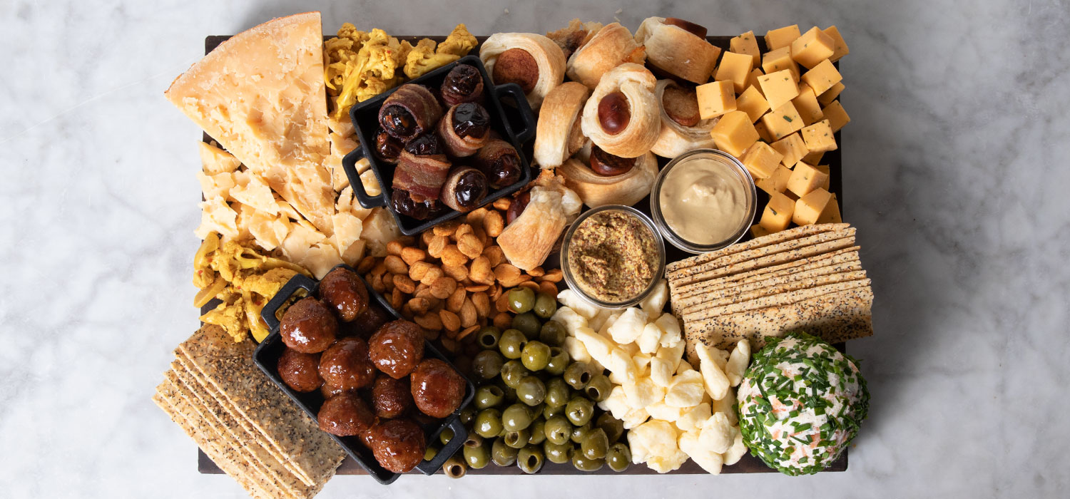 The Big Game Day Cheese Board