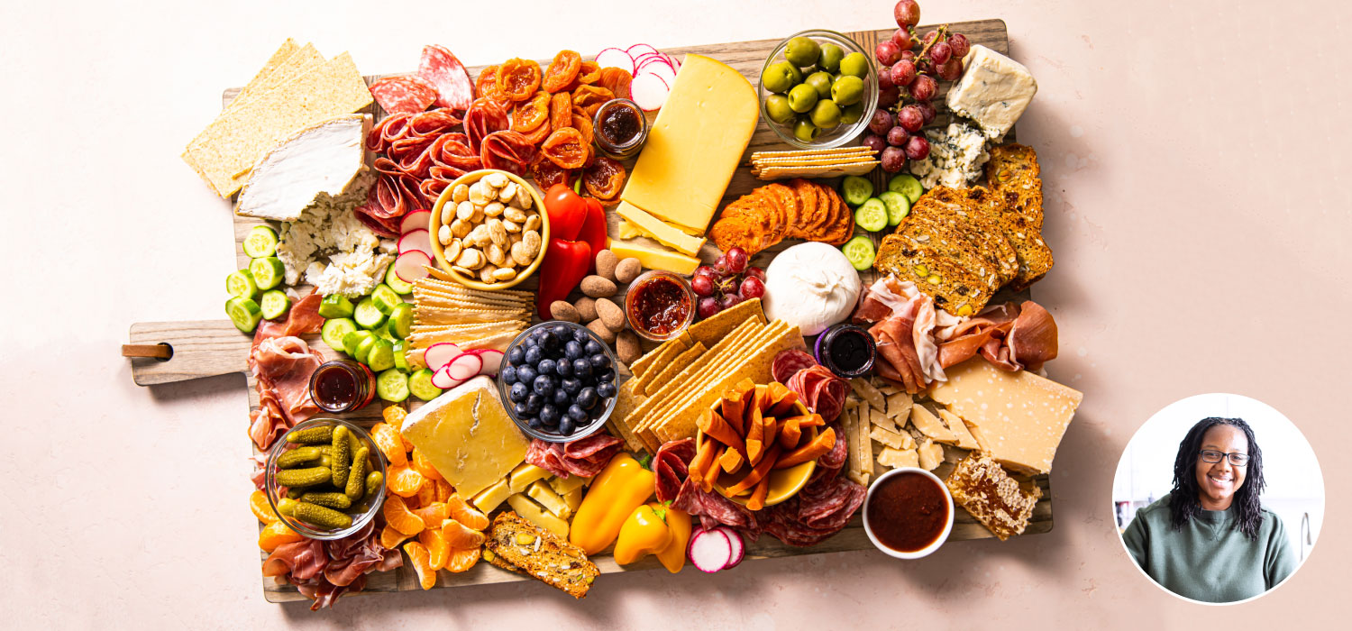 The @ButterBeReady Pride Cheese Board