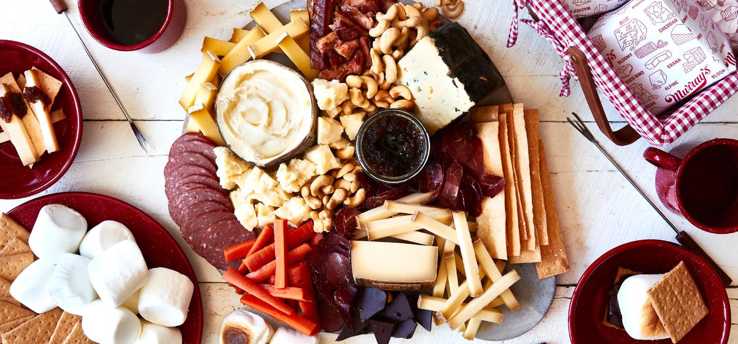 The Campfire Cheese Board