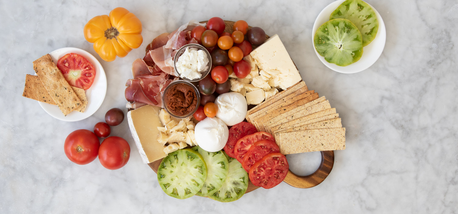 The Caprese Cheese Board