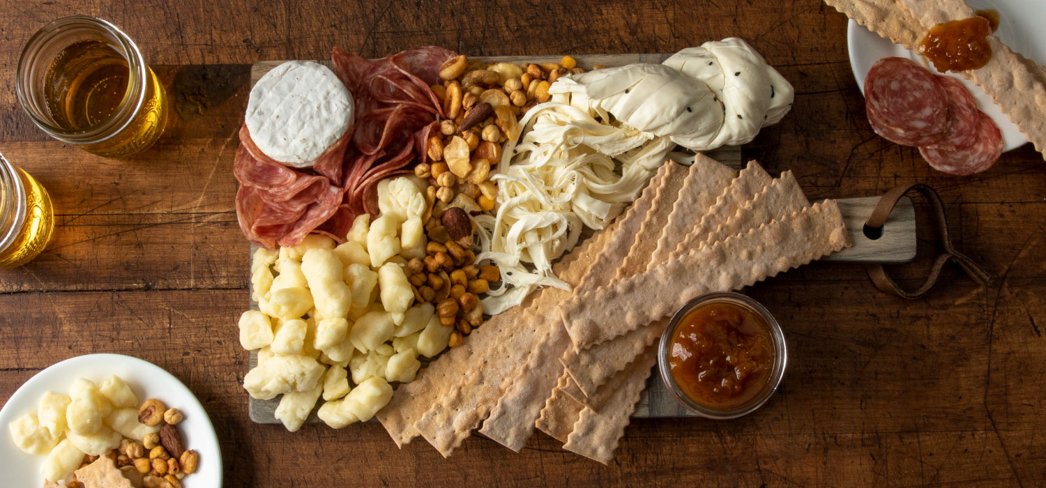 The Easy Traveling Cheese Board