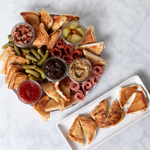 The Grilled Cheese Pairing Board