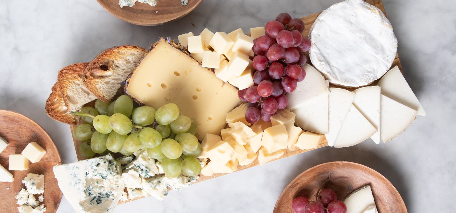 The Holiday Sampler Cheese Board
