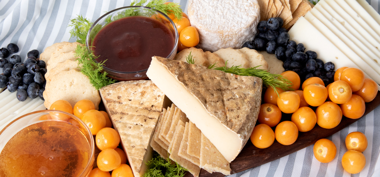 The Light and Bright Spring Cheese Board