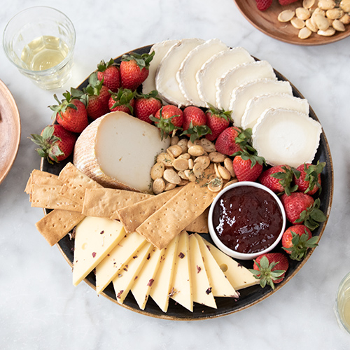 The White Wine Pairing Cheese Board