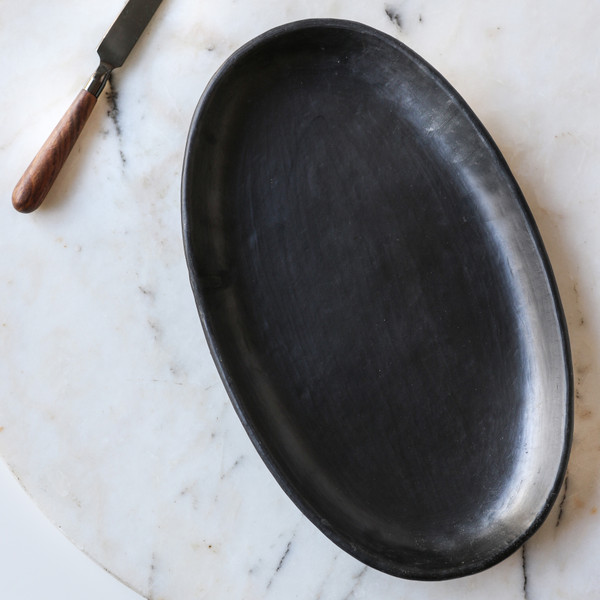 Be Home Serpentine Oval Platter