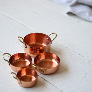 Be Home Hammered Copper & Gold Nested Bowls