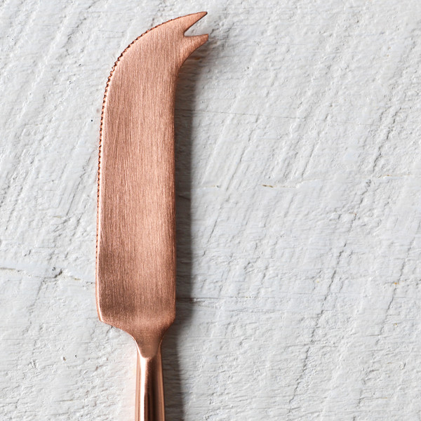 Be Home Copper Cheese Knife
