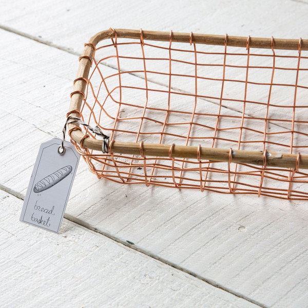 Be Home Copper Basket