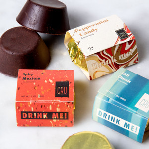 Cru Chocolate Drinking Chocolate Trio