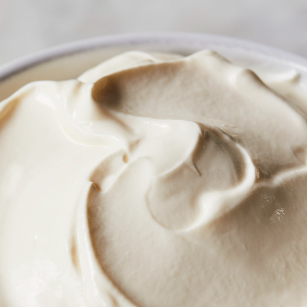Arethusa Dairy Sour Cream Swirled in a Bowl