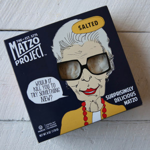 The Matzo Project Salted Matzo 6 oz