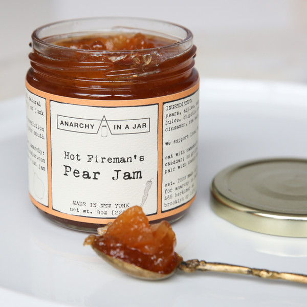 Anarchy in a Jar Hot Fireman's Pear Jam 8oz