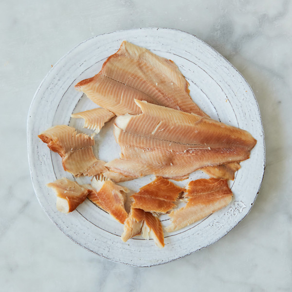 Plate of Smoked Trout