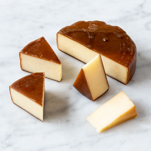 Grafton Maple Smoked Cheddar Wheel 8oz