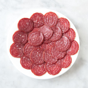 Brooklyn Cured Sliced Smoked Beef Salami 3oz