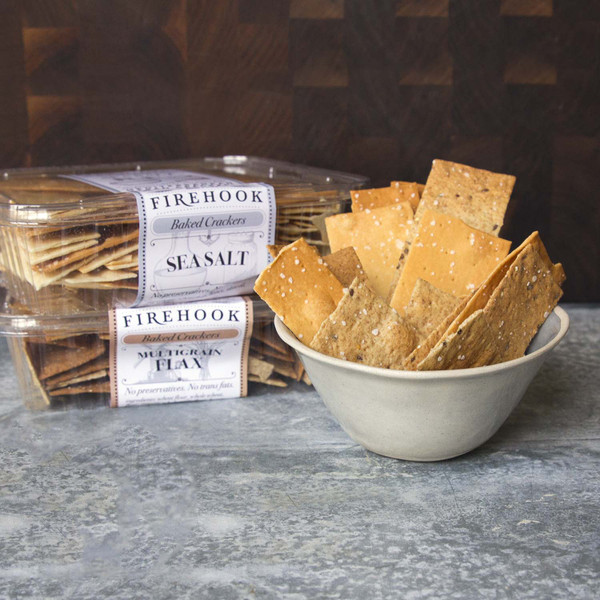 Firehook Baked Crackers Sea Salt Crackers