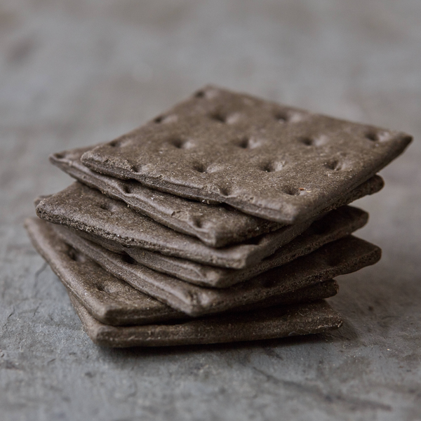The Fine Cheese Charcoal Squares Crackers