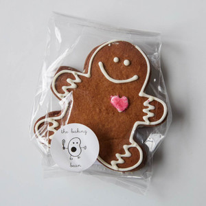 The Baking Bean Gingerbread Man Sandwich Cookie 3.5oz
