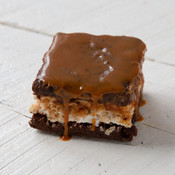 The Baking Bean Salted Caramel Rice Krispy Brownie 4oz