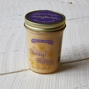 Velvet Bees Honey Butter 8oz