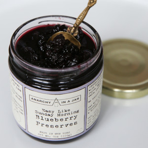 Anarchy In A Jar Blueberry Preserves 8oz