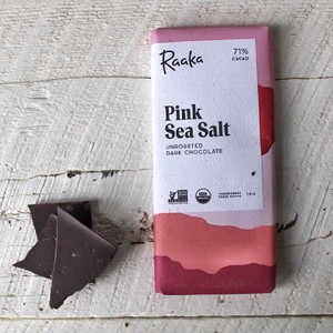 Raaka Pink Sea Salt Bar 1.8oz