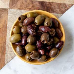 Pitted Greek Olive Mix 6oz