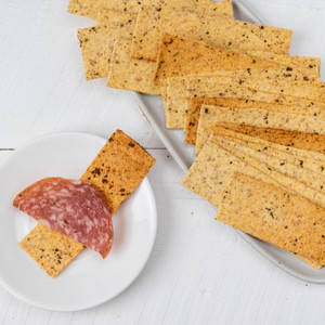Z Crackers Garlic And Basil Crackers 8 oz