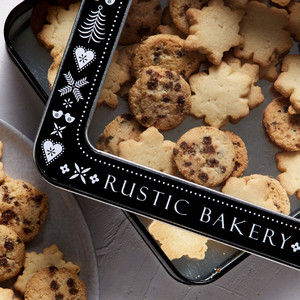 Rustic Bakery Holiday Cookie Tin 14oz