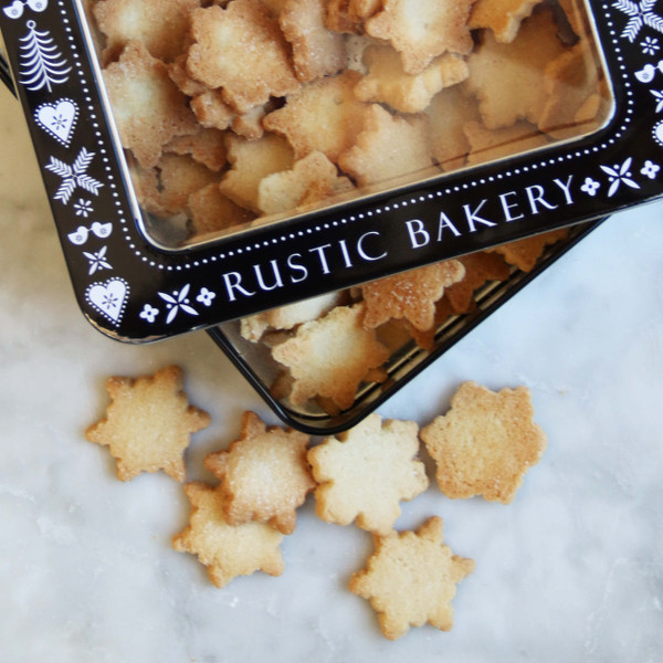 Rustic Bakery Holiday Cookie Tin