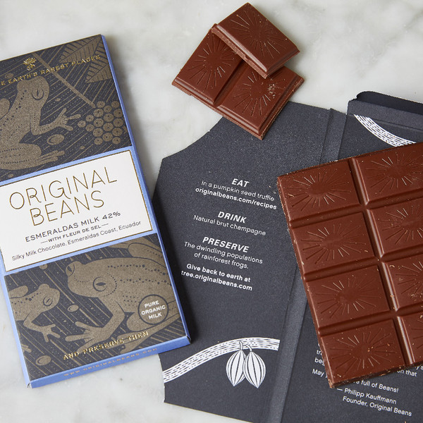 Original Beans Esmeraldas Milk Chocolate 42% 70g