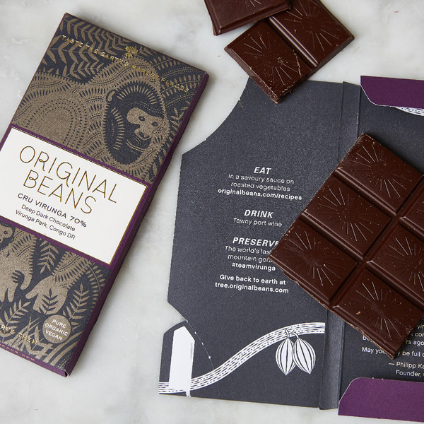 Original Beans Cru Virunga Chocolate 70% 70g
