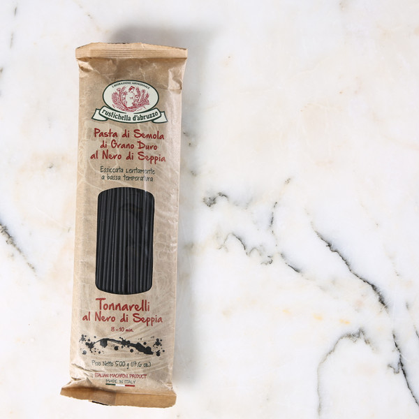 Rustichella D'abruzzo Tonnarelli With Squid Ink 500g