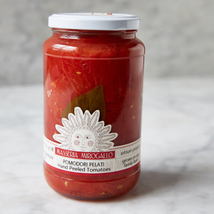 Masseria Mirogallo Hand Peeled Tomatoes 18.7oz