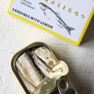 Matiz Sardines In Oil With Lemon 4.2 oz