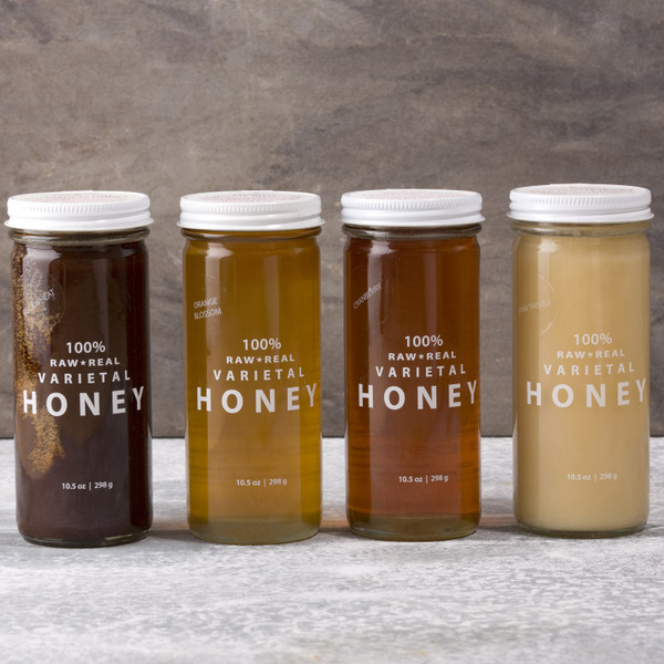 Bee Raw Yellow Clover Honey