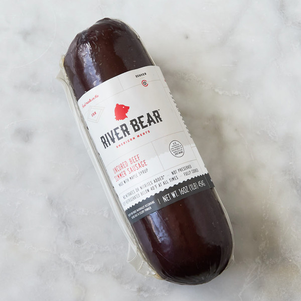 Package of River Bear Uncured Summer Sausage
