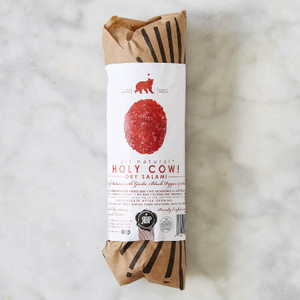Red Bear Provisions Holy Cow! Beef Dry Salami 8oz