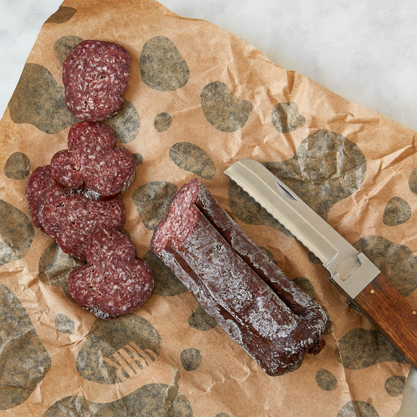 Red Bear Provisions Tipsy Cow Beef & Brandy Dry Salami 8oz