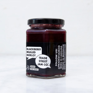 Trade Street Jam Co. Blackberry Mulled Merlot Jam 9oz
