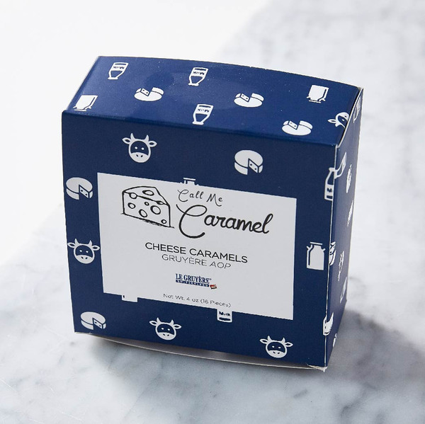Call Me Caramel Cheese Caramels With Gruyere AOP Gift Box