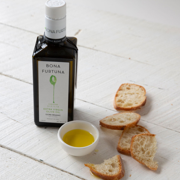 Bona Furtuna Heritage Blend Extra Virgin Olive Oil 16.9oz