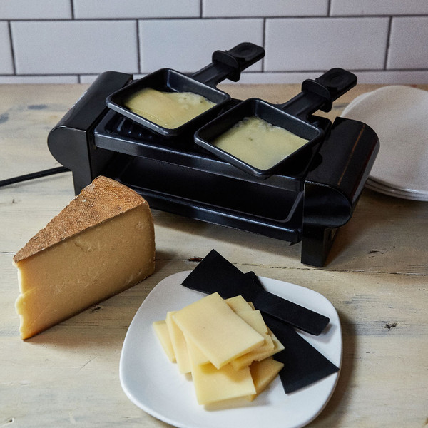 mini raclette machine murray 39 s cheese. Black Bedroom Furniture Sets. Home Design Ideas