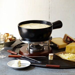 Boska Nero Fondue Pot Set